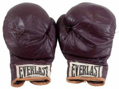 Muhammad Ali Joe Frazier gloves