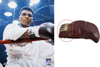 Muhammad ALi SOnny Liston Gloves record auction