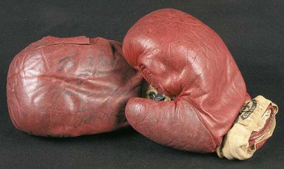 Muhammad Ali boxing gloves