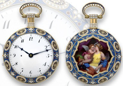 Allegory of love pocket watch