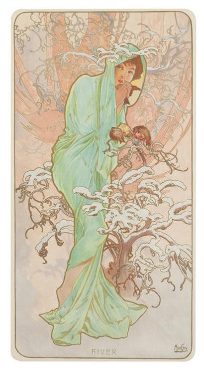 Alphonse Mucha The Stars