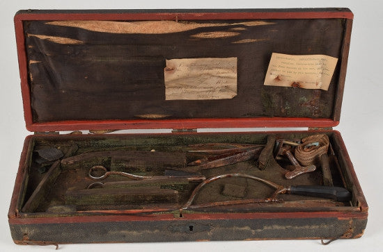 American Revolution surgical kits