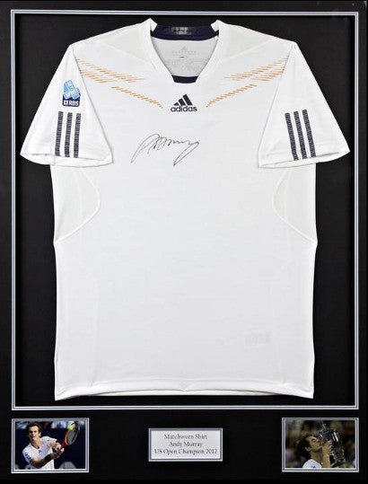 Andy Murray signed shirt US Open 2012