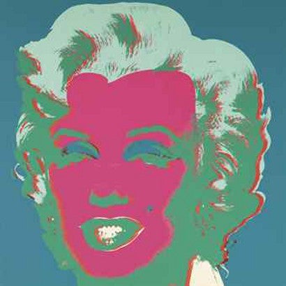 Andy Warhol Marilyn print