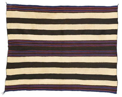 Andy Williams Navajo blanket