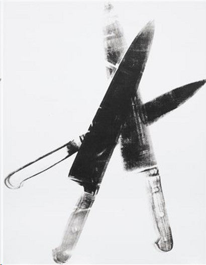 Andy Warhol Knives auction