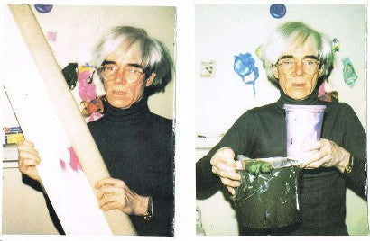 Andy Warhol jumper auction