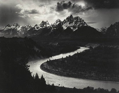 Ansel Adams Grand Tetons
