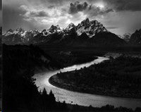 The Grand Tetons and The Snake River, by Ansel Adams, to auction