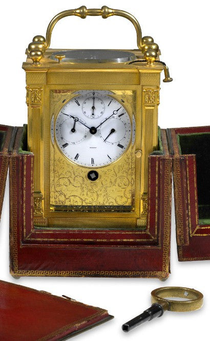 Antique Breguet carriage clock