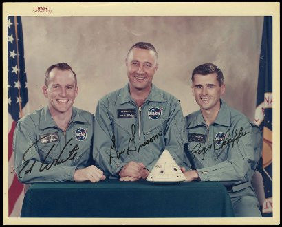 Apollo 1 signed photograph