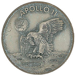 Robbins medal from the Apollo 11 Mission