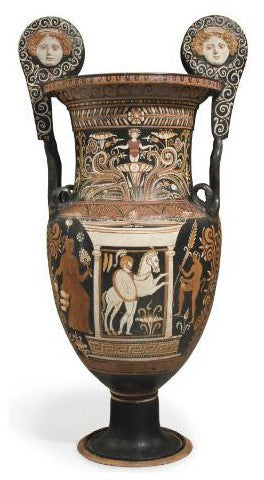 Apulian Red Figured Volute Krater
