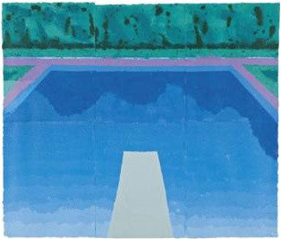 David Hockney's Autumn Pool