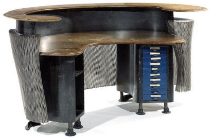 Artist Ron Arad desk