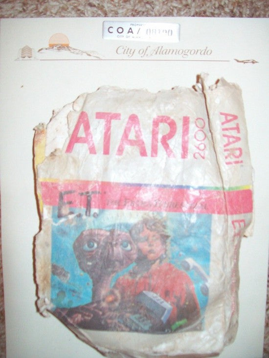 Atari eBay buried
