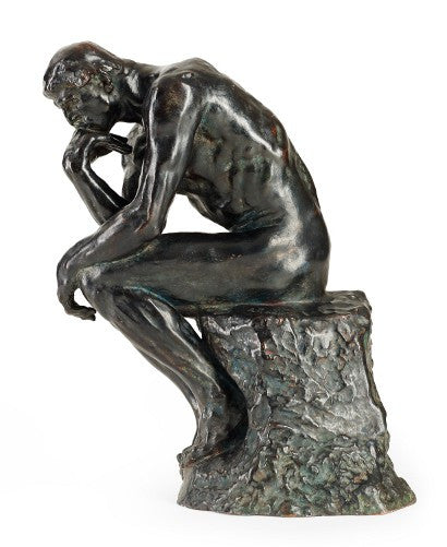 Auguste Rodin The Thinker auction
