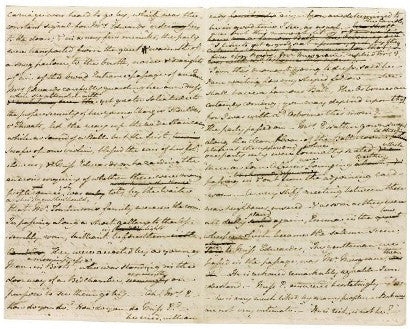 Jane Austen's autograph manuscript of The Watsons