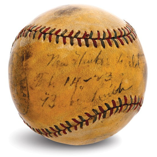 Babe Ruth Home Run Ball