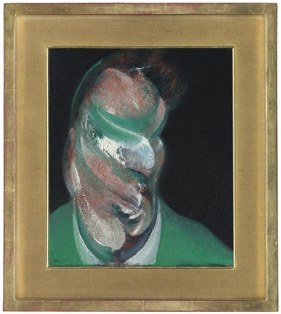Francis Bacon Head of Lucian Freud