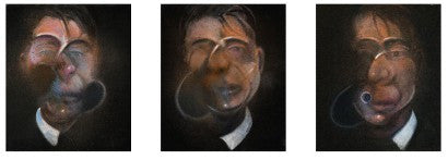 Francis Bacon Three Studies For Self-Portrait Sotheby's