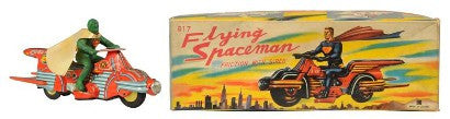 Bandai Flying Spaceman toy