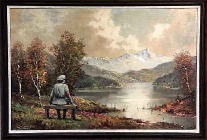 Banksy charity shop painting