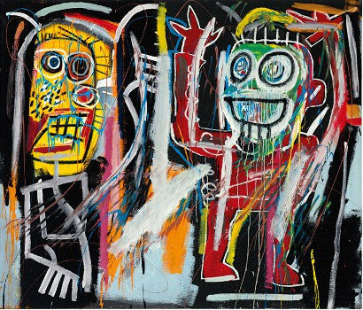 Basquiat Dustheads Christie's auction