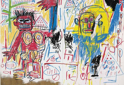 Jean Michel Basquiat Untitled