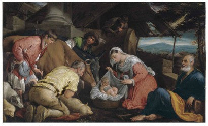 Bassano Adoration of the Shepherds