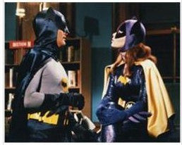 Yvonne Craig as Batgirl with Batman