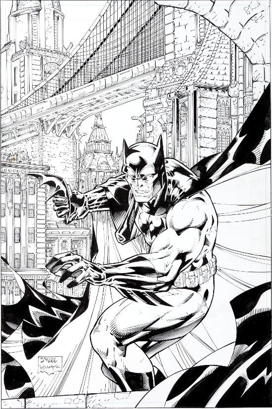 Batman Black and White 1 cover art