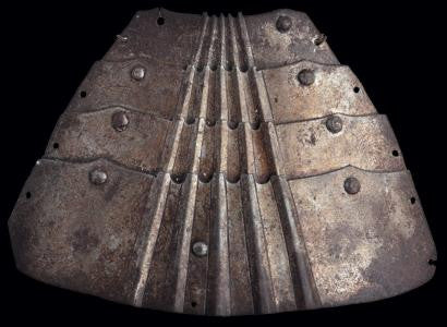 Bevor from jousting armour