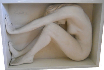 Bill Mack female nude sculpture Enigma