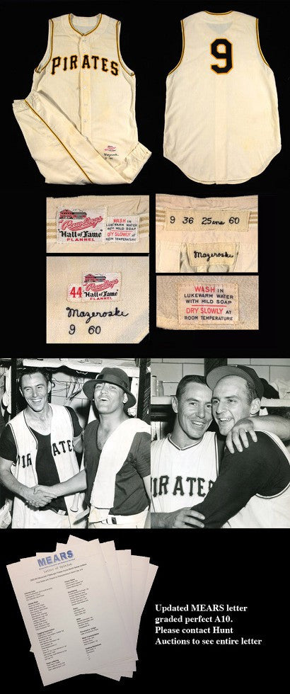 Bill Mazeroski World Series uniform