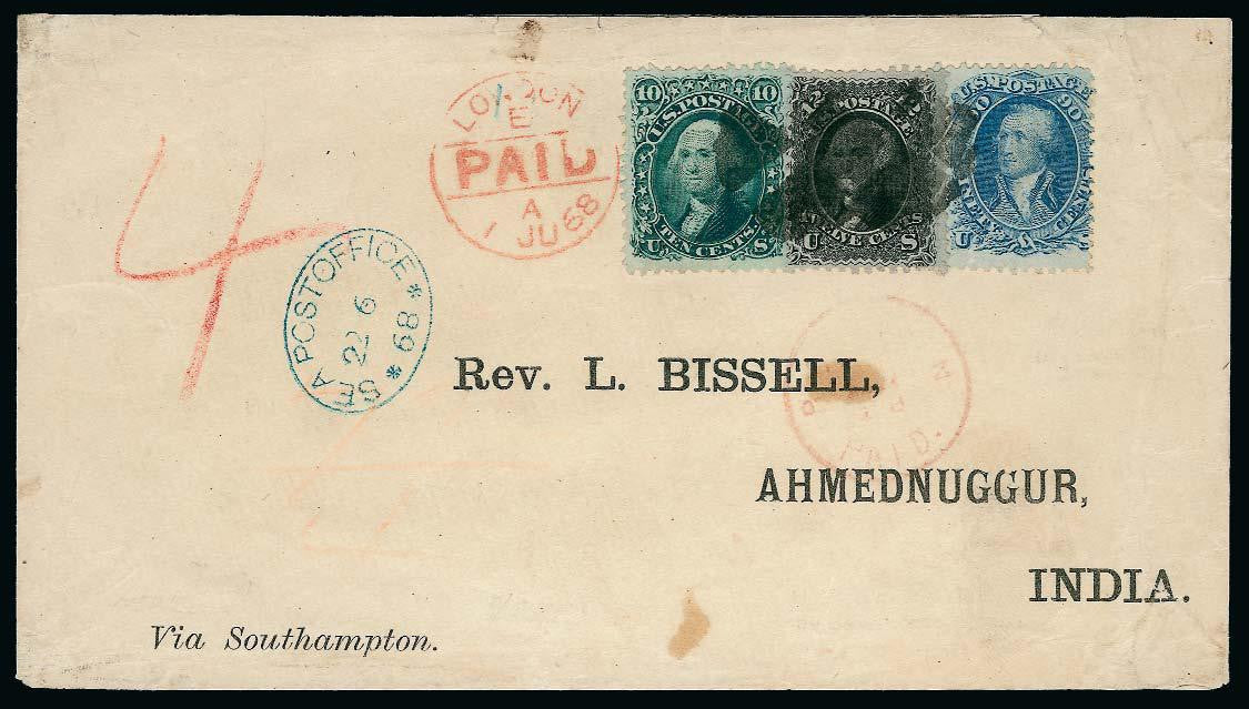 Bissell correspondence India Cover