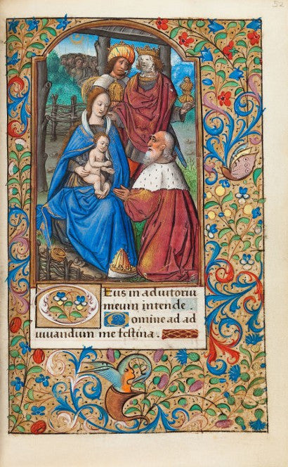 Book of Hours illumination