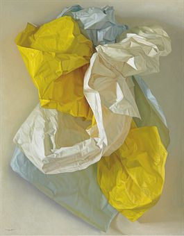Claudio Bravo's White, Blue and Yellow Papers