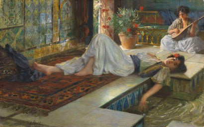 Ferdinand Max Bredt Leisure of the Odalisques