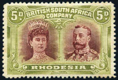 British South Africa stamp Rhodesia
