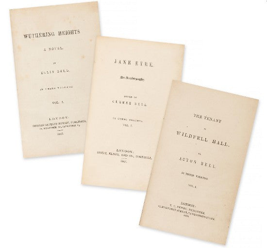 Bronte sisters first edition set