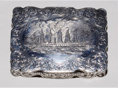 Isambard Kingdom Brunel snuffbox