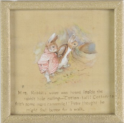 Beatrix Potter Benjamin Bunny illustrations