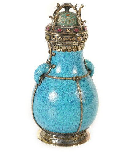 William Burges flask