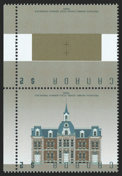 Canada $2 Provincial Normal School invert