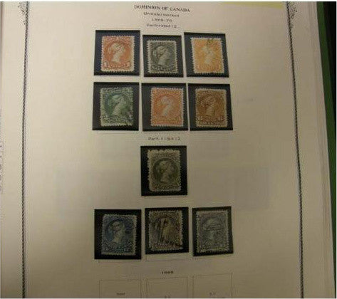 Canadian stamp collection