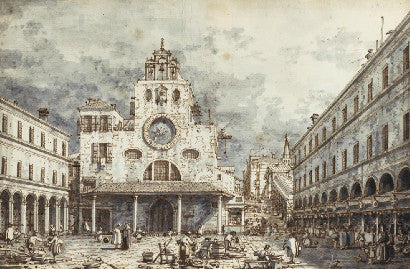Canaletto Venice drawing world record Sotheby's