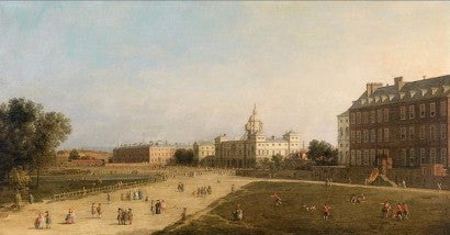 Canaletto New Horse Guards from St James Park