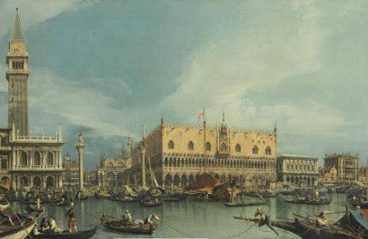 Canaletto The Molo Venice