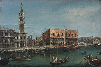 Canaletto style Venice
